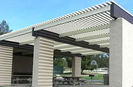 Industrial Window Awnings & Door Hoods