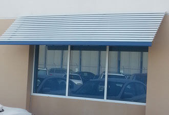 Aluminum Window Awnings, Door Hoods San Diego, CA | Chula ...