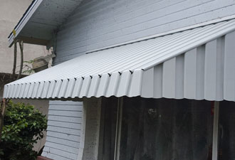 Clairemont Double Glazed Awning