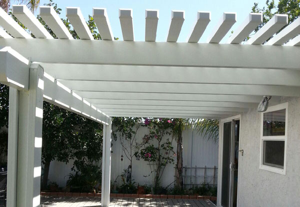Allied Gardens Lattice Patio Cover