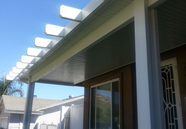 Home Attached Aluminum Patio Cover