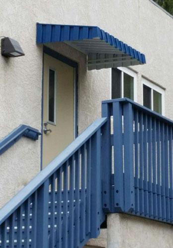 Aluminum Aurora Door Hood San Diego & Aluminum City San Diego CA Gallery   Patio Covers Window Awnings ...