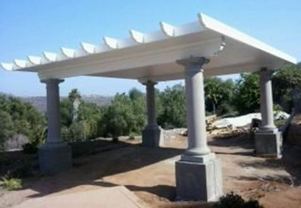 Aluminum city san diego ca gallery patio covers window for Freestanding patio cover