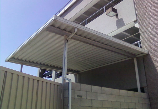 El Cajon CA Parking Structure Patio Cover