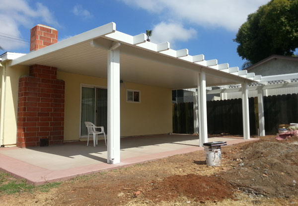 Flat Pan Aluminum Patio Cover Poway