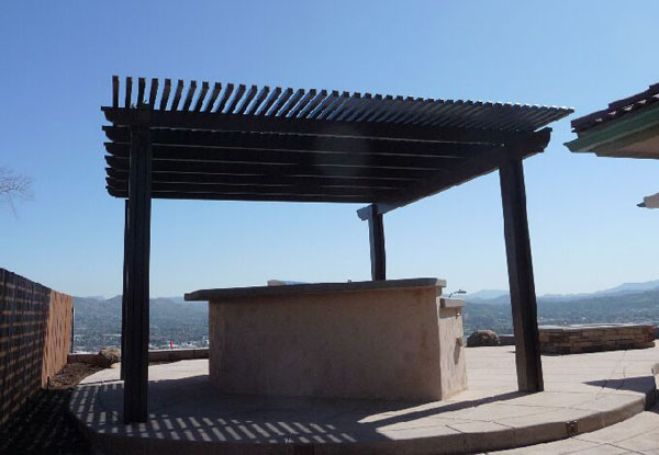 Free Standing Patio Cover in Santee, CA