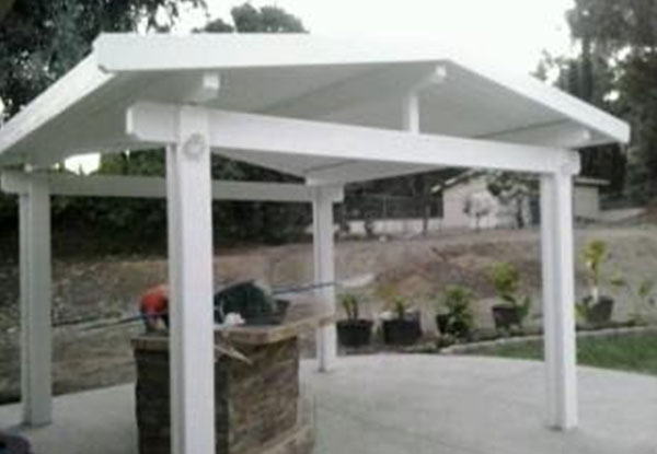 Free Standing Aluminum Patio Awning