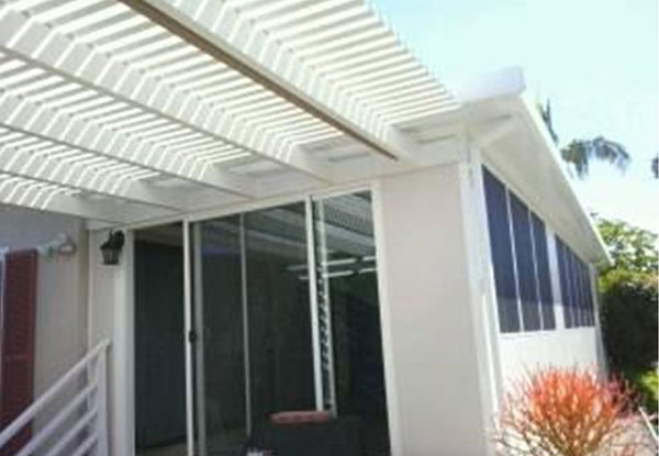 Lattice Patio Cover California Room Oceanside