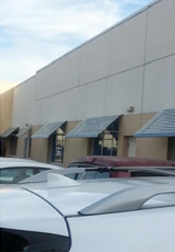 Commercial Aluminum Panorama Window Awning