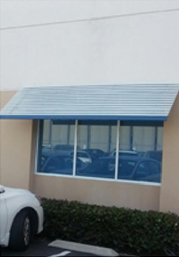 Commercial Panorama Window Awning