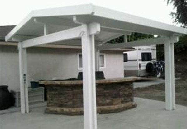 Homeowner Free Standing Patio Cover
