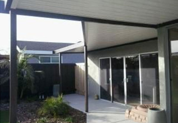 Custom Aluminum Patio Cover