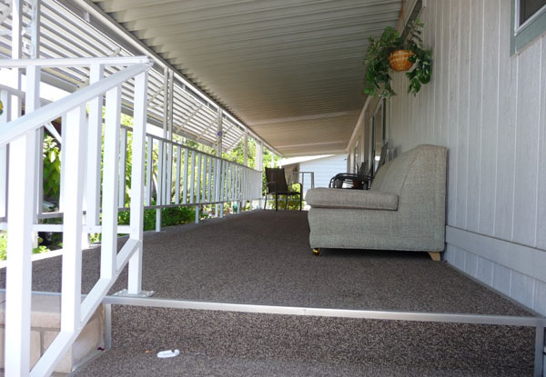 Mobile Home Porch Installation Santee