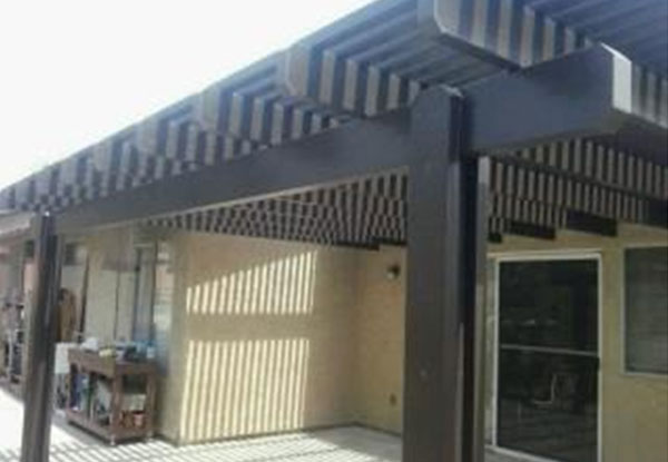 Chula Vista Lattice Patio Cover