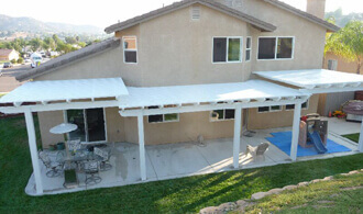 Perfect ... Affordable Lattice Patio Cover