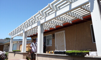 Window Awnings In San Diego County Rot Proof Long Lasting Cover