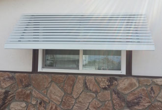 Aluminum Window Awnings Door Hoods San Diego Ca Chula
